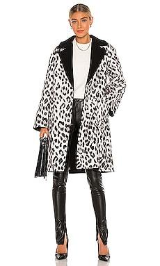 Tomiko Reversible Coat Alice + Olivia $416
