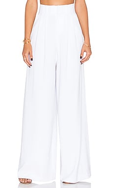 Alice + Olivia Scarlet Pant in White