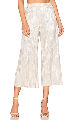 Elba Pant in Pale Gold