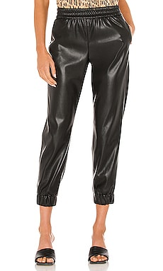 Pete Vegan Leather Pant Alice + Olivia $295 NEW