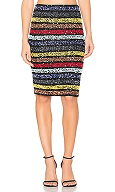 Ramos Embellished Skirt in Multi