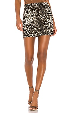 Elana Mini Skirt Alice + Olivia $158