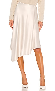 Jayla Drape Slit Skirt Alice + Olivia $265