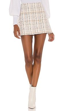 Riley Clean Waist Aline Skirt Alice + Olivia $225 BEST SELLER