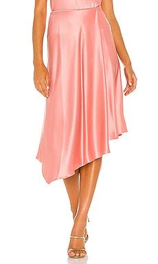 Jayla Drape Slip Skirt Alice + Olivia $265 NEW