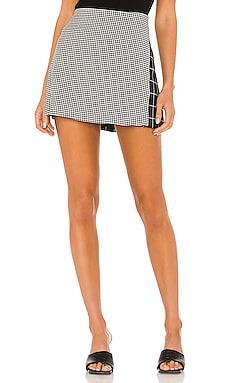 Darma Combo High Waist Crossover Skirt Alice + Olivia $225