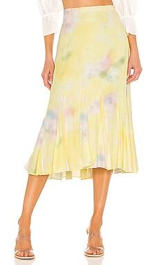 Jacqueline Midi Godet Skirt Alice + Olivia $375