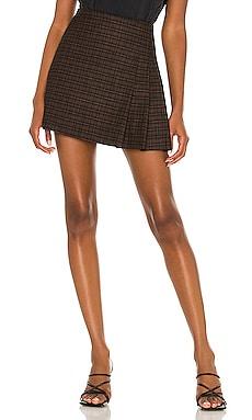 Semira Pleated Mini Skirt Alice + Olivia $275