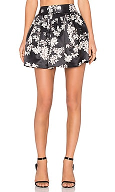 Alice + Olivia Fizer Skirt in Southern Blossom