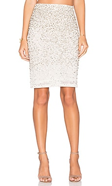 Alice + Olivia Ramos Skirt in Cream