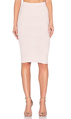 Alice + Olivia Morena Skirt in Light Pink