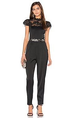 Rosalia Jumpsuit in Black