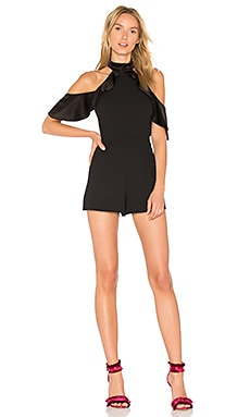 Roseline Romper in Black