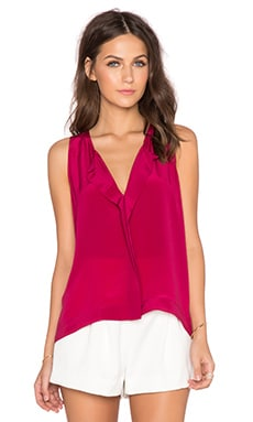Alice + Olivia Felix Top in Berry