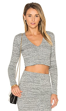 Jori Cropped Top in Grey