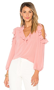 Gia Blouse in Dusty Rose