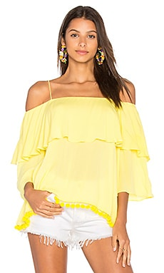 Meagan Top in Lemon