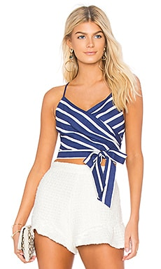 Rayna Cross Over Tank Alice + Olivia $225 BEST SELLER