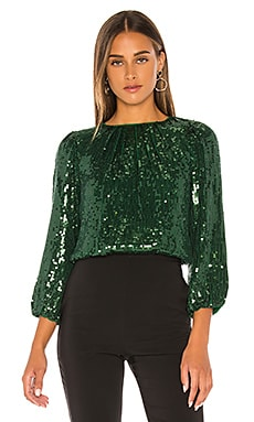 Avila Sequin Crop Top Alice + Olivia $350