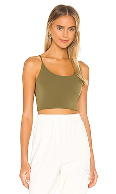 Penny Low Scoop Neck Crop Top Alice + Olivia $125