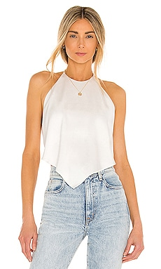 Frenchie Handkerchief Halter Top Alice + Olivia $225 BEST SELLER