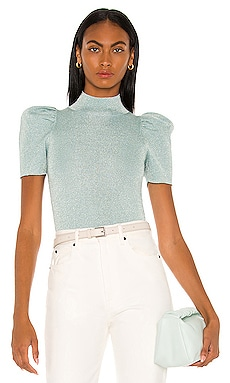 Issa Puff Sweater Top Alice + Olivia $295