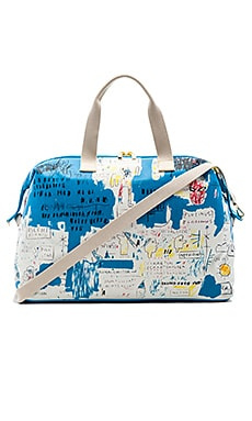 Basquiat Ascent Weekender Bag in Multi