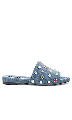Ramona Stones Sandal en Blue Eracle Denim