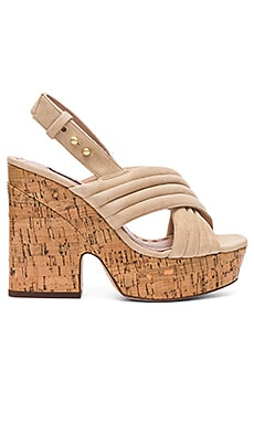 Charlize Heel in Nude Prime Suede