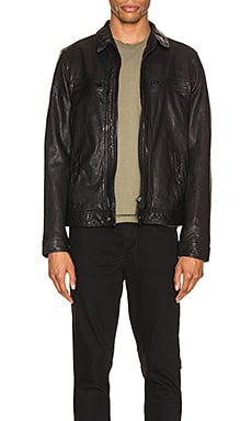 Lark Leather Jacket ALLSAINTS $498
