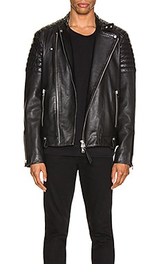 Jasper Leather Biker Jacket ALLSAINTS $585