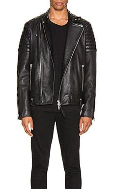 Кожаная куртка jasper - ALLSAINTS