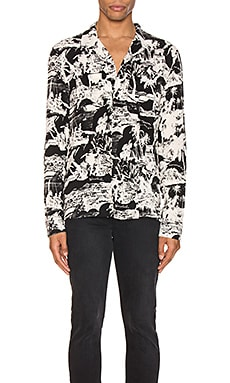Awa Long Sleeve Shirt ALLSAINTS $64