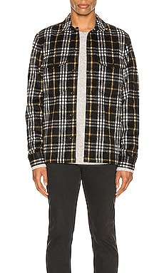 Berthold Long Sleeve Shirt ALLSAINTS $150 NEW ARRIVAL