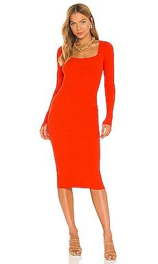 Bardi Rib Dress ALLSAINTS $199 NEW