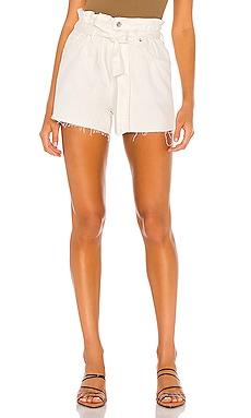 Hannah Paperbag Short ALLSAINTS $120 NEW