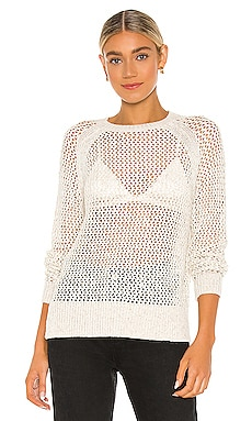 Mesh Metallic Sweater ALLSAINTS $180