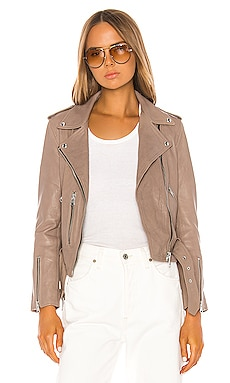 Balfern Leather Biker Jacket ALLSAINTS $498
