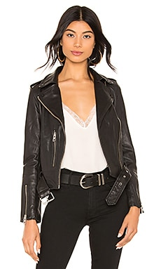 Balfern Leather Biker Jacket ALLSAINTS $498 BEST SELLER