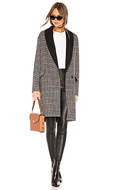 Check Coat ALLSAINTS $349