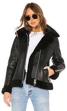 Jaya Shearling Jacket ALLSAINTS $860