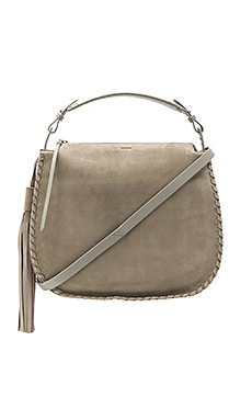 Mori Hobo in Light Cement Grey