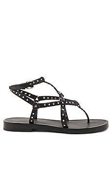 Flora Sandal in Black