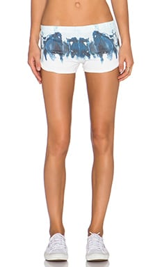 All Things Fabulous Track Shorts in Wild Horses