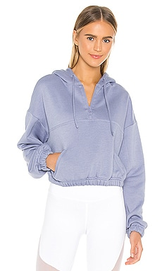 SWEAT À CAPUCHE HALD ZIP alo $84