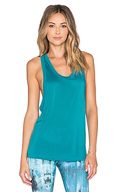 alo Balance Tank in Deep Teal
