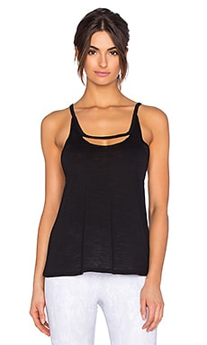 alo Split Tank in Black