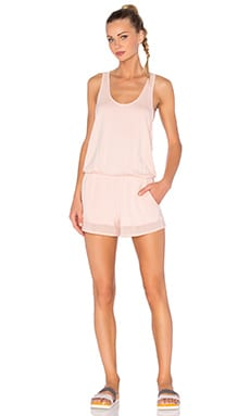 alo Tranquility Romper in Shell