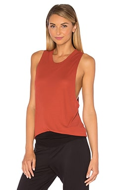 alo Heat Wave Tank in Sunbaked