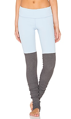 Goddess Legging in Sky & Stormy Heather